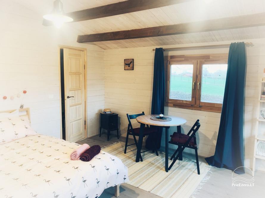 Wood house in Dvarcenai - Retreat in nature! - 9