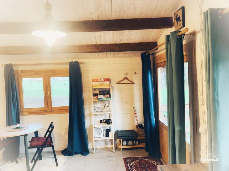 Wood house in Dvarcenai - Retreat in nature! - 14