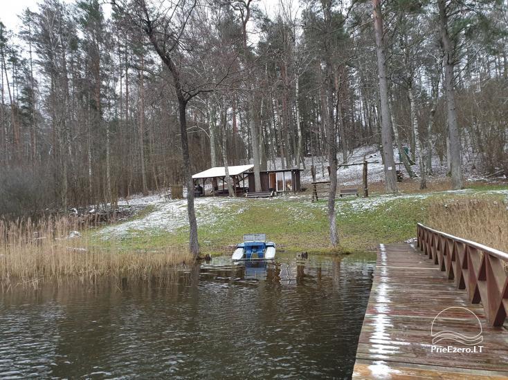 Vienkiemis su privačia ežero pakrante Molėtų rajone - 26