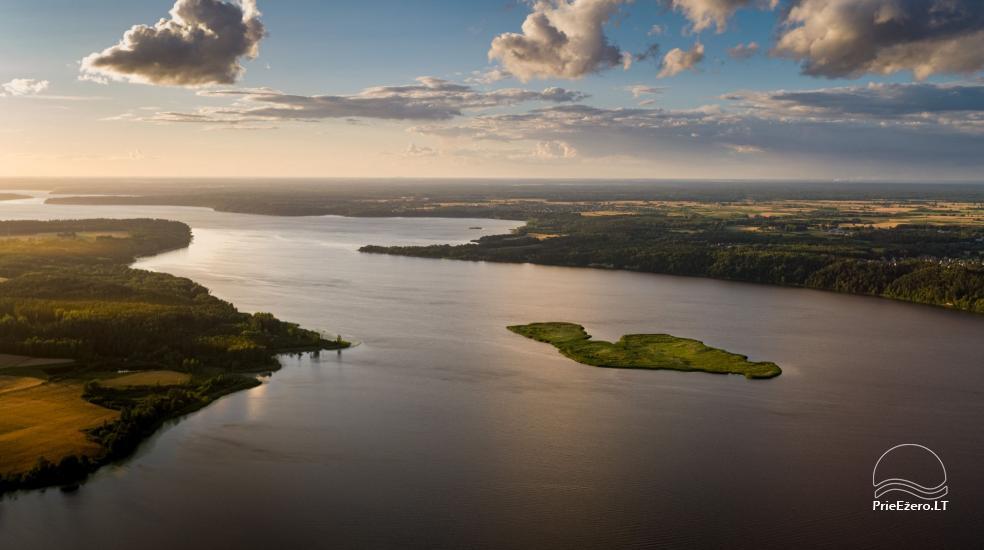 Plausto NEMO nuoma Avirio ežere. Apgyvendinimas, maitinimas bei pirtis ant vandens! - 9