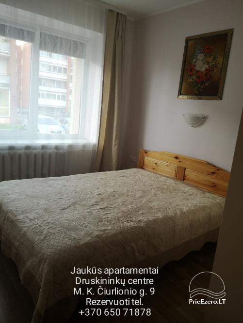 Druskininkų centre nuomojami jaukūs nedideli butai-studijos, Čiurlionio g., šalia Šaulio žiedo. - 13