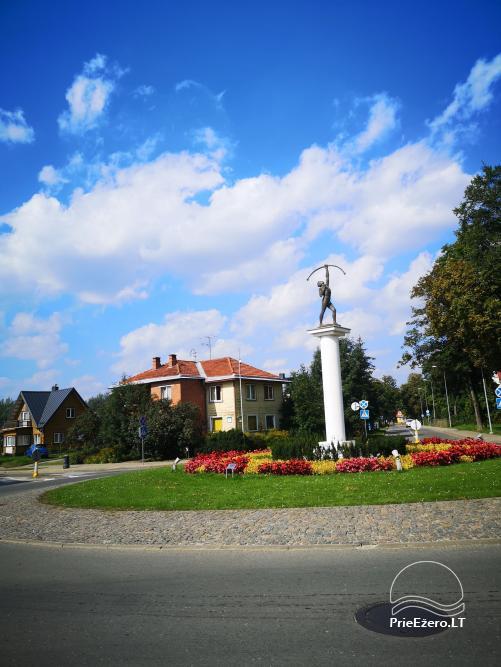 Druskininkų centre nuomojami jaukūs nedideli butai-studijos, Čiurlionio g., šalia Šaulio žiedo. - 14
