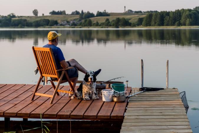 Sodyba Pas Bičiulį draugų, šeimos šventėms, žvejybai prie Mošios ežero - 8
