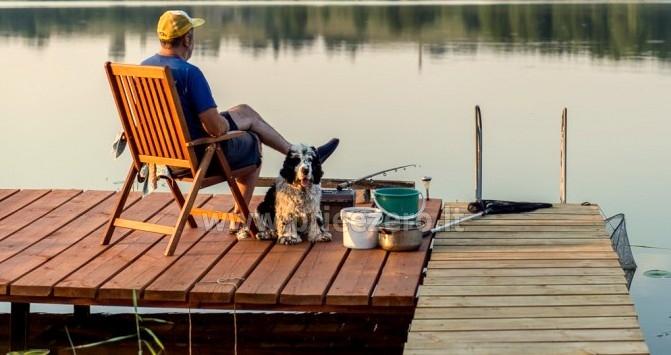 Sodyba Pas Bičiulį draugų, šeimos šventėms, žvejybai prie Mošios ežero - 4