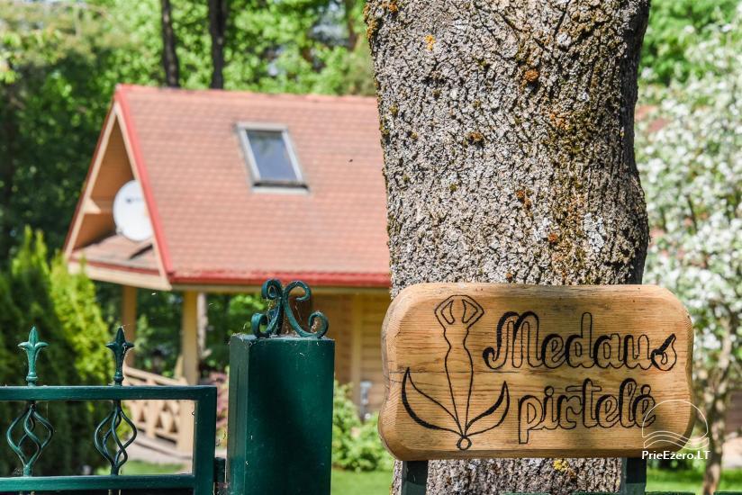 Medaus pirtelė TRAKŲ rajone prie ežero Skaistis - 6
