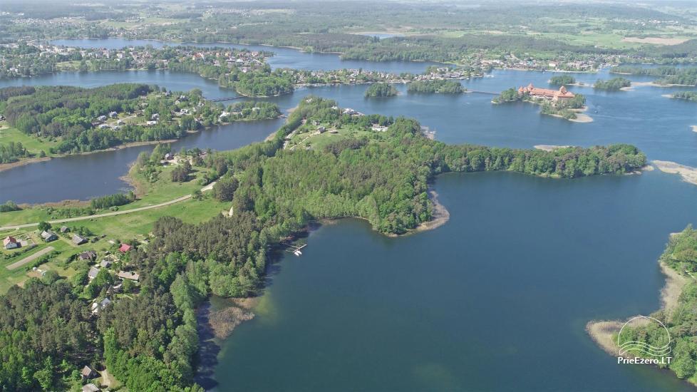 """""""Medaus pirtelė""""– 2-4 žm. prie ežero Trakų raj. - 42"""