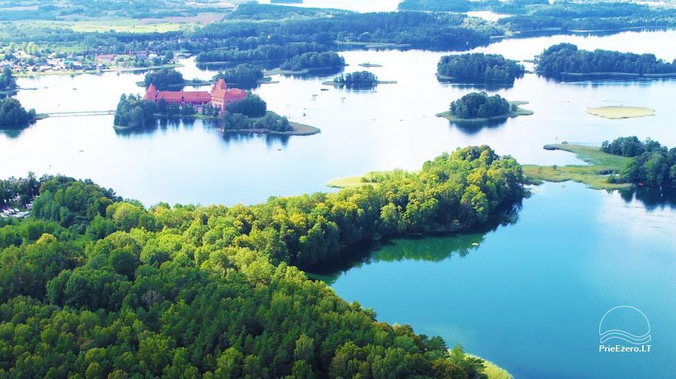 """""""Medaus pirtelė""""– 2-4 žm. prie ežero Trakų raj. - 53"""