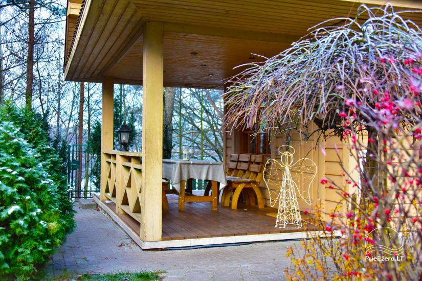 """""""Medaus pirtelė""""– 2-4 žm. prie ežero Trakų raj. - 23"""