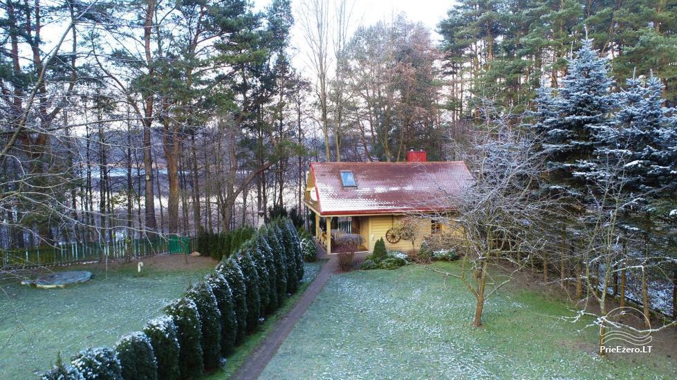 """""""Medaus pirtelė""""– 2-4 žm. prie ežero Trakų raj. - 36"""