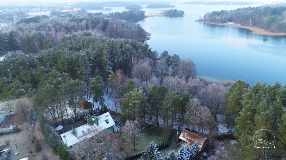 """""""Medaus pirtelė""""– 2-4 žm. prie ežero Trakų raj. - 50"""