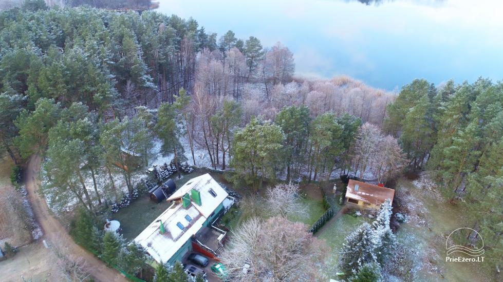 """""""Medaus pirtelė""""– 2-4 žm. prie ežero Trakų raj. - 48"""