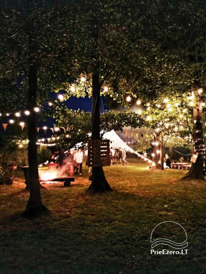 Pusiasalis – unikali erdvė renginiams Trakų rajone prie Skaisčio ežero - 2