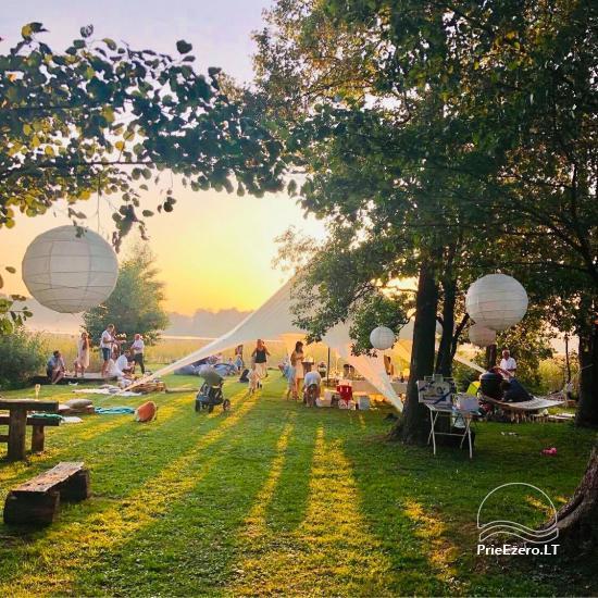 Pusiasalis – unikali erdvė renginiams Trakų rajone prie Skaisčio ežero - 1