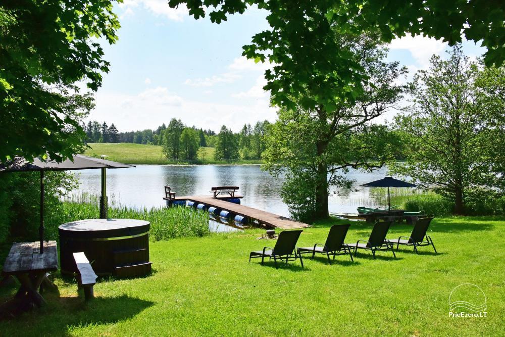 """4-viečiai nameliai su pilnais patogumais ant ežero kranto netoli Platelių """"Mint4Rest"""" - 7"""