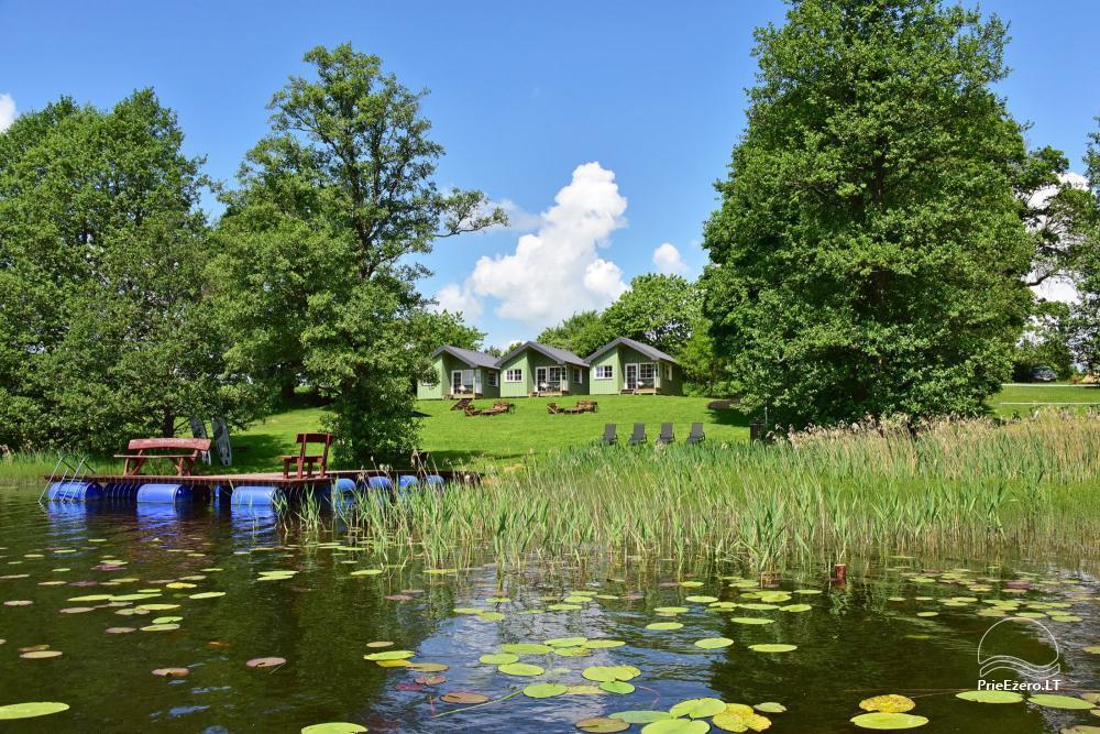 """4-viečiai nameliai su pilnais patogumais ant ežero kranto netoli Platelių """"Mint4Rest"""" - 11"""