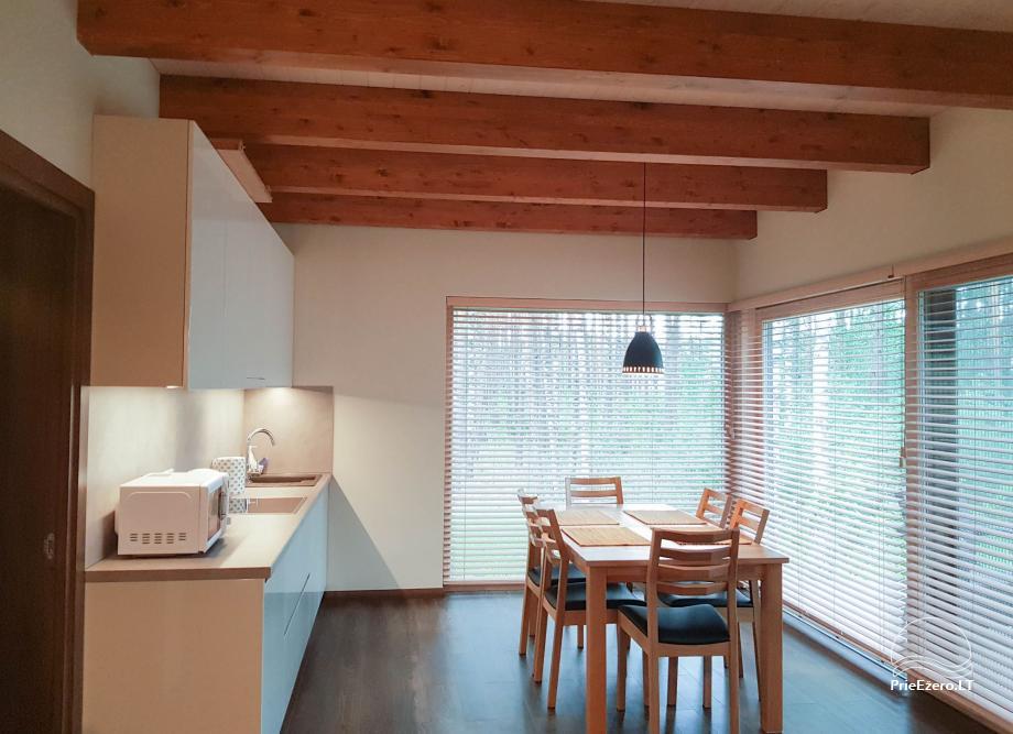 Apartamentai miške prie Ilgio ežero Vila Natura - 2