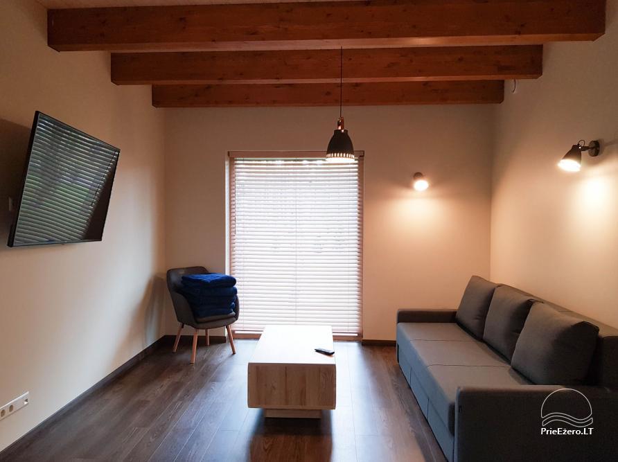 Apartamentai miške prie Ilgio ežero Vila Natura - 7