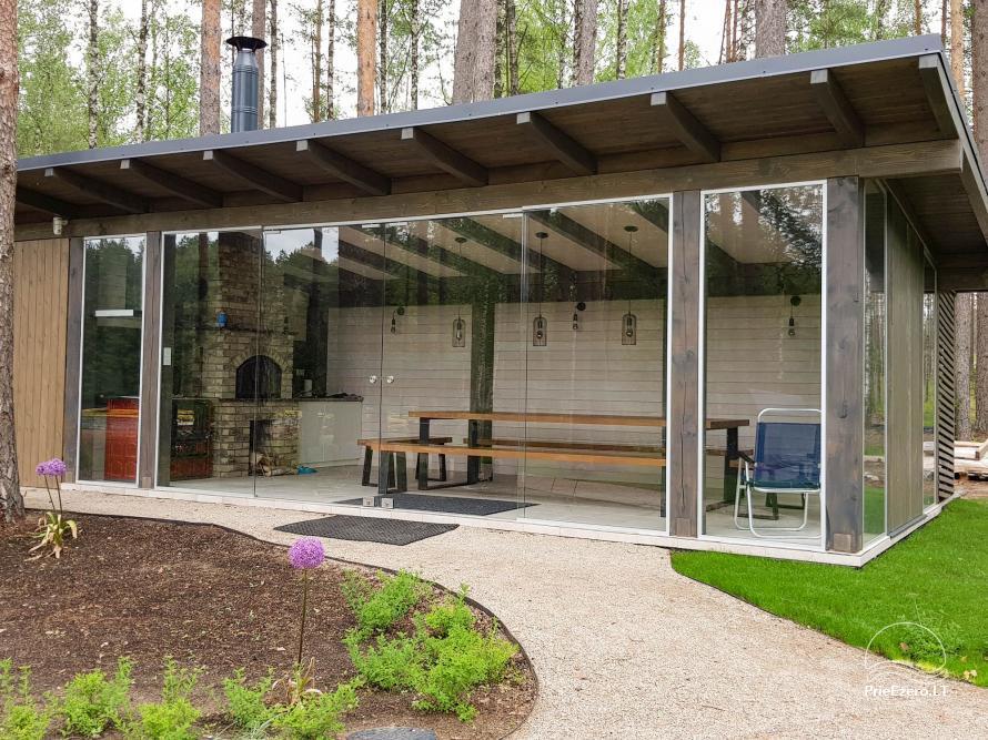 Apartamentai miške prie Ilgio ežero Vila Natura - 12