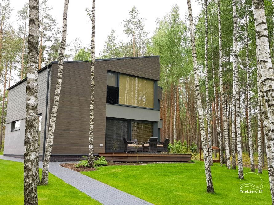 Apartamentai miške prie Ilgio ežero Vila Natura - 13
