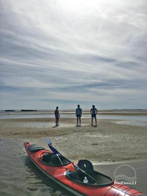 Vilos nuoma prie upės, baidarės, žvejyba, vaikų pramogos, ramiam šeimos poilsiui - 21