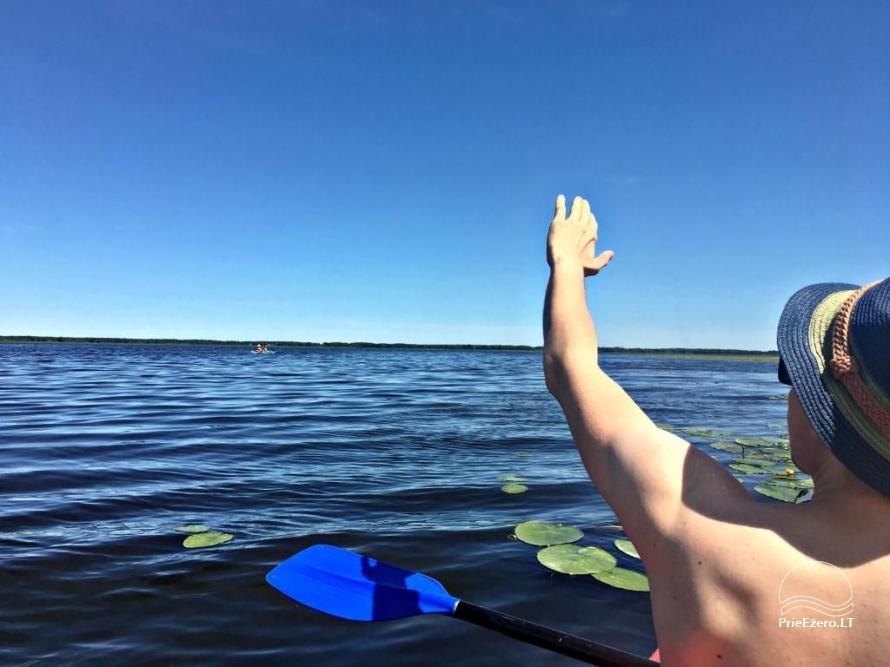 Vilos nuoma prie upės, baidarės, žvejyba, vaikų pramogos, ramiam šeimos poilsiui - 22
