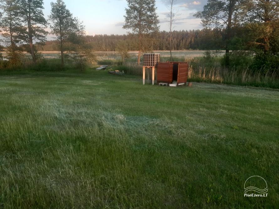 Namelis stovyklavietėje prie Kiaunos - 12