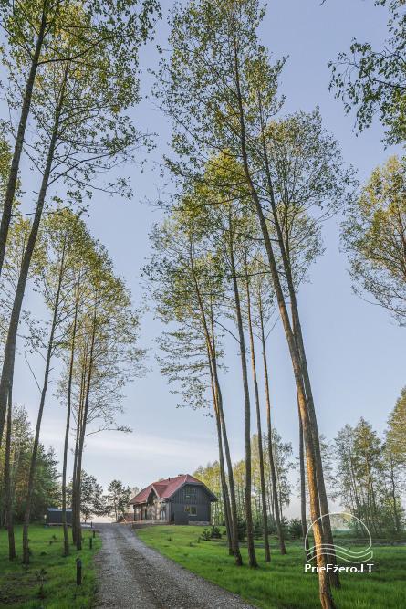 Sodyba Voverė Molėtų rajone, prie ežero Galuonai - 62