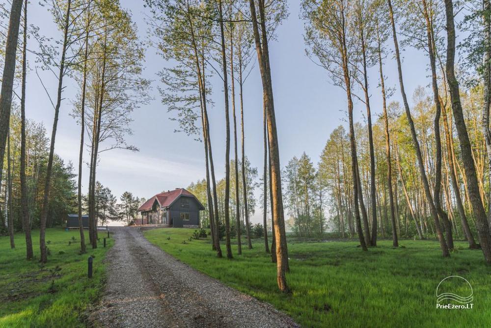 Sodyba Voverė Molėtų rajone, prie ežero Galuonai - 63