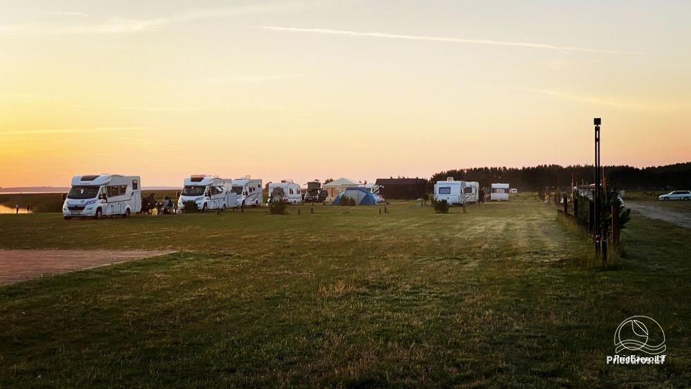 Fenas Kite Spot kempingas ant Kuršių marių kranto Svencelėje - 8