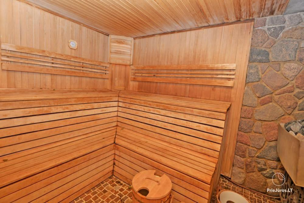 Audrės namai Mazūriškėse. Apgyvendinimas, pirtis, kubilas, baseinas - 11