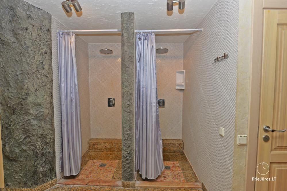 Audrės namai Mazūriškėse. Apgyvendinimas, pirtis, kubilas, baseinas - 12