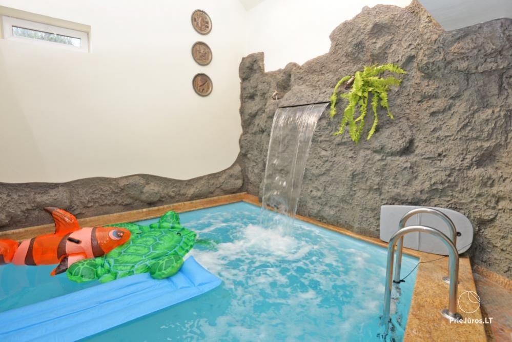 Audrės namai Mazūriškėse. Apgyvendinimas, pirtis, kubilas, baseinas - 13