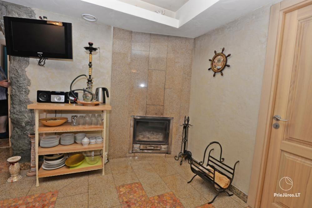 Audrės namai Mazūriškėse. Apgyvendinimas, pirtis, kubilas, baseinas - 14