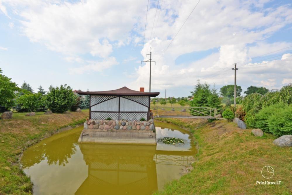 Audrės namai Mazūriškėse. Apgyvendinimas, pirtis, kubilas, baseinas - 24