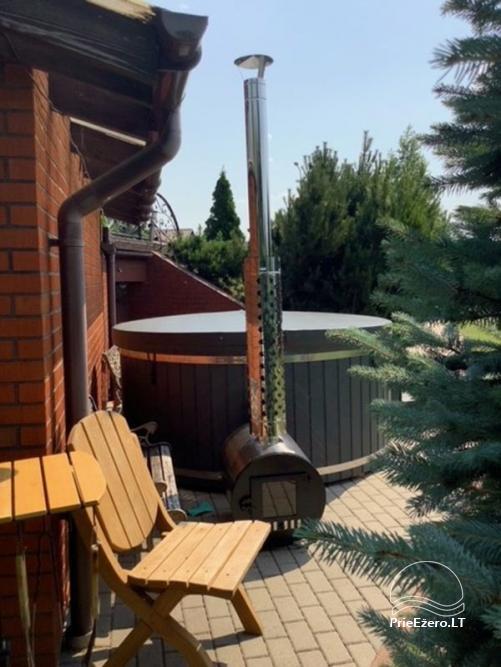 Audrės namai Mazūriškėse. Apgyvendinimas, pirtis, kubilas, baseinas - 32