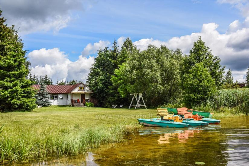 Šovų sodyba ant ežero kranto Trakų rajone - 5