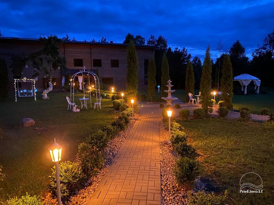 Vila Forest Resort  - Ramybės oazė išskirtinėms šventėms, vakarėliams, renginiams - 5