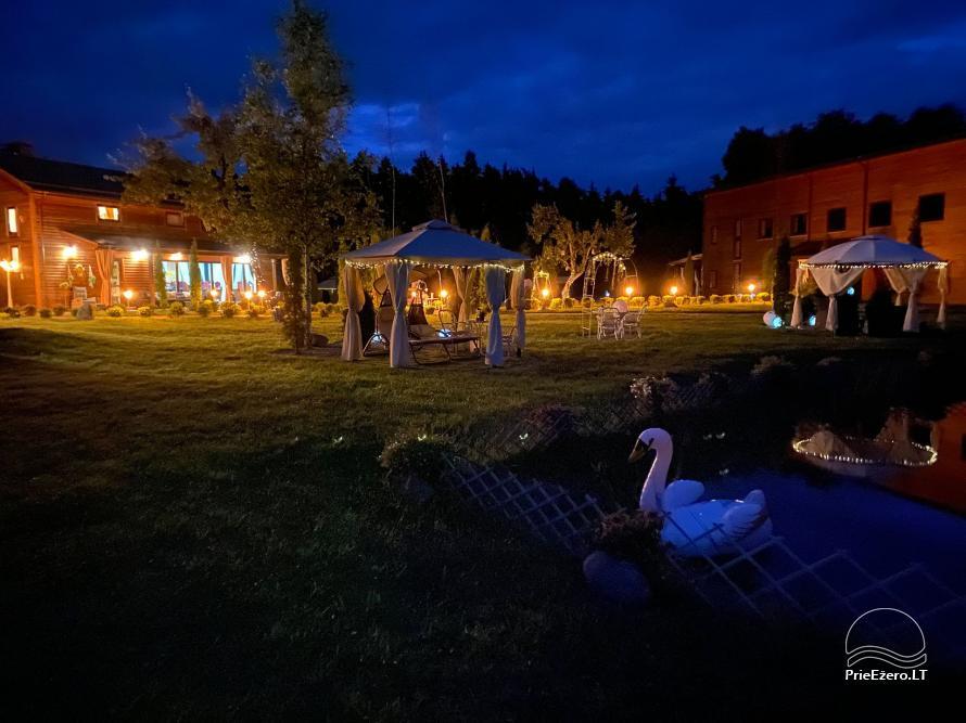Vila Forest Resort  - Ramybės oazė išskirtinėms šventėms, vakarėliams, renginiams - 7