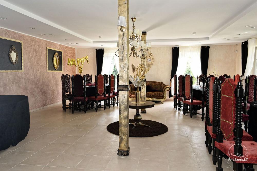 Vila Forest Resort  - Ramybės oazė išskirtinėms šventėms, vakarėliams, renginiams - 14