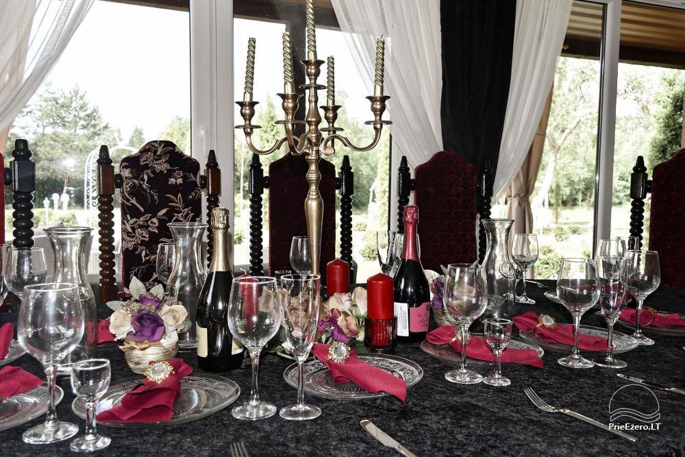 Vila Forest Resort  - Ramybės oazė išskirtinėms šventėms, vakarėliams, renginiams - 16