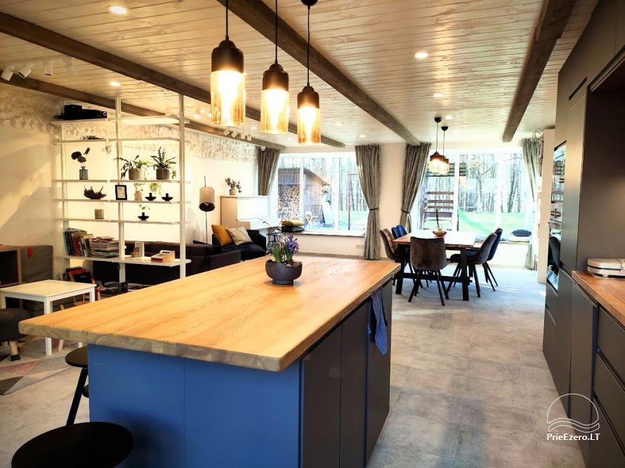 Moderni vila su pirtimi Family House Druskininkai - 3