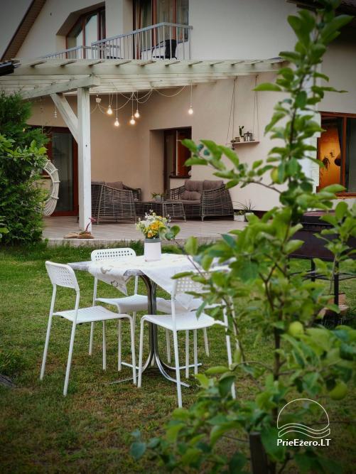 Moderni vila su pirtimi Family House Druskininkai - 12