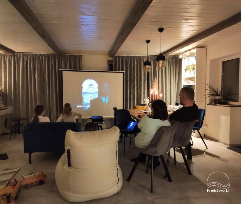 Moderni vila su pirtimi Family House Druskininkai - 5