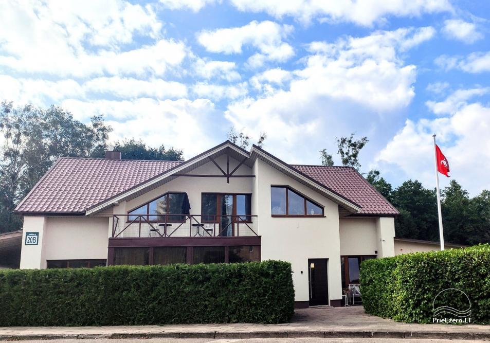 Moderni vila su pirtimi Family House Druskininkai - 14