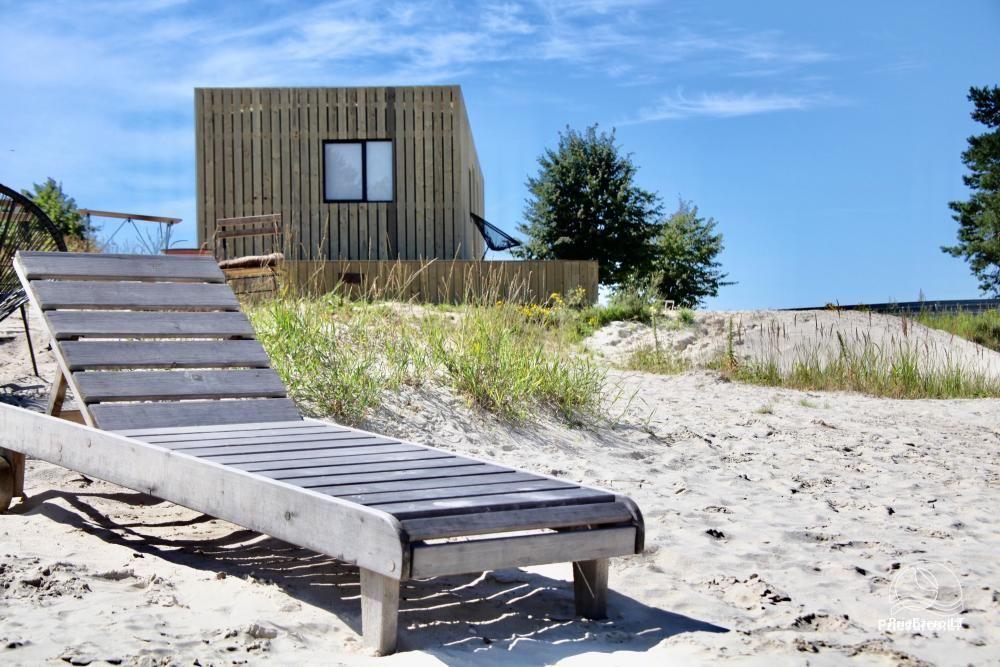 Išskirtinės architektūros namas Svencelėje netoli Kuršių Marių kranto su nuosavu smėlio paplūdimiu - 2