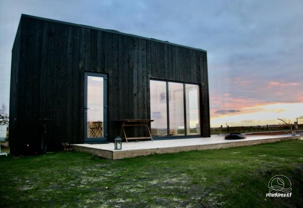Išskirtinės architektūros namas Svencelėje netoli Kuršių Marių kranto su nuosavu smėlio paplūdimiu - 4