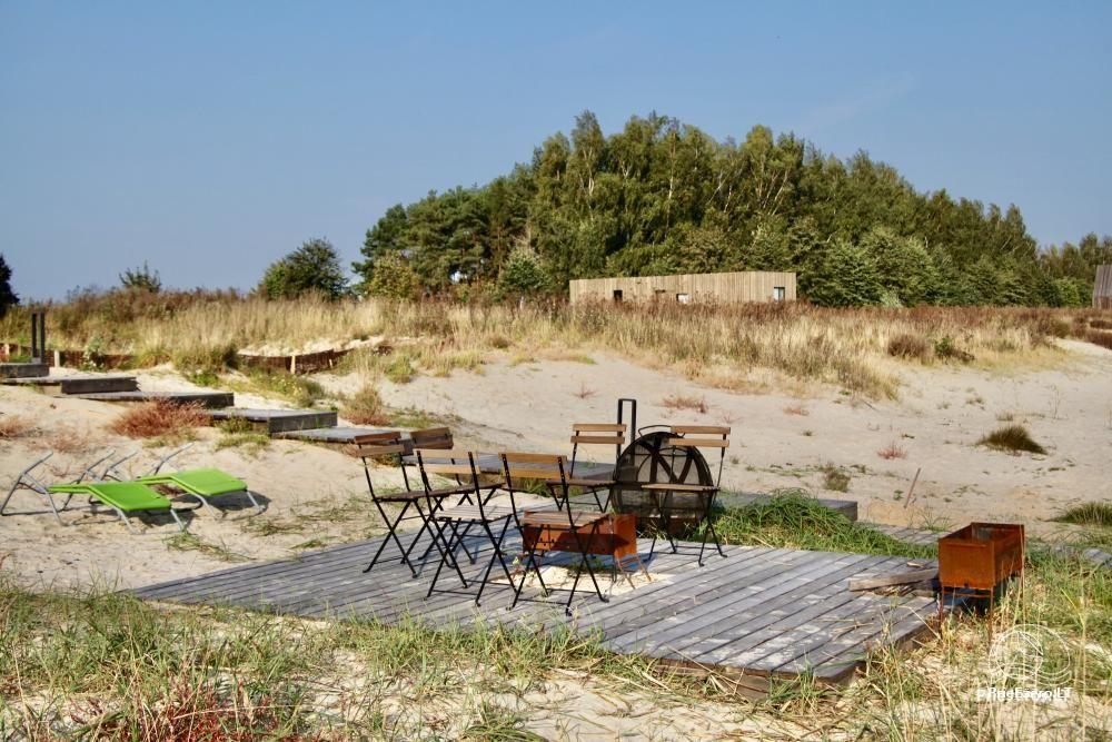 Išskirtinės architektūros namas Svencelėje netoli Kuršių Marių kranto su nuosavu smėlio paplūdimiu - 9