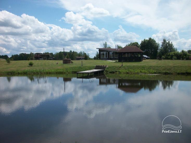 Sodybos nuoma  Ranča - keturių namelių kompleksas - 4