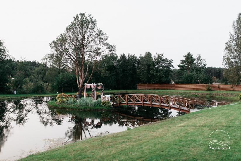 Karklėnai Resort - sodyba Vilniaus rajone - dideliems ir mažiems renginiams, šventėms - 9
