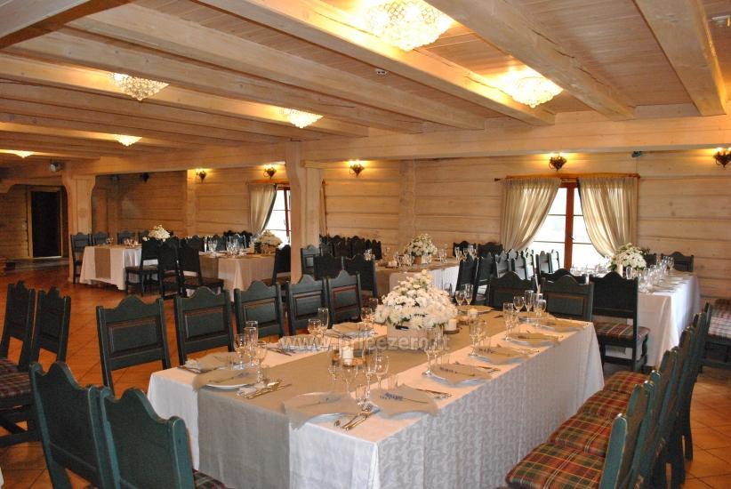 Dvarčėnų dvaras: jaukūs kambariai, pokylių, konferencijų salės, pirtis - 16